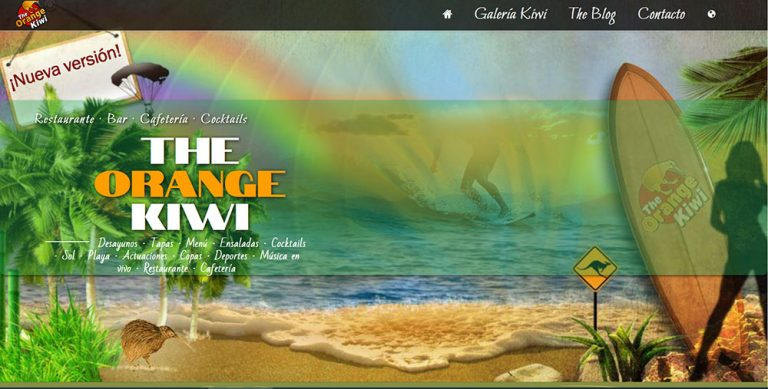 Nueva Web del Orange Kiwi - Empuriabrava