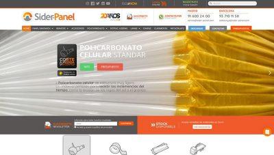 Web corporativa de Sider·Panel