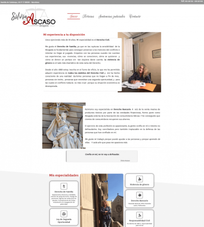 Silvia Ascaso Web